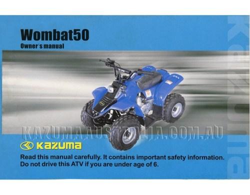 small resolution of kazuma wombat 50cc manual wombat kazuma 50cc atv wiring diagram