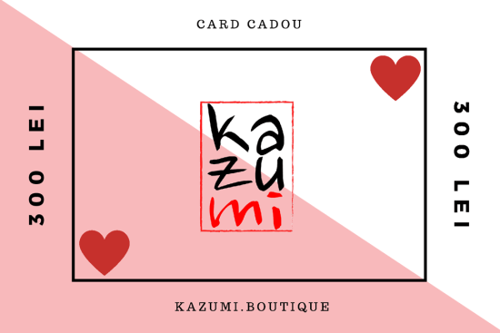 Cardul Cadou Kazumi 300 lei