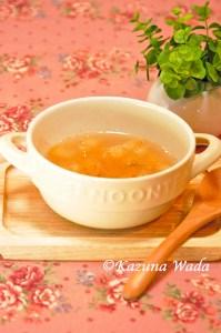 りんごとしょうがのスープ