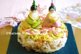 ひなまつり 寿司 人形