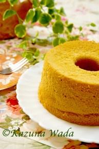 米粉スパイスシフォンケーキ