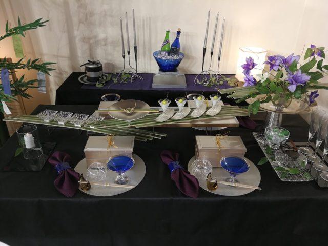 テーブルウェアフェスティバル 2018 七夕 テーブルコーディネート
