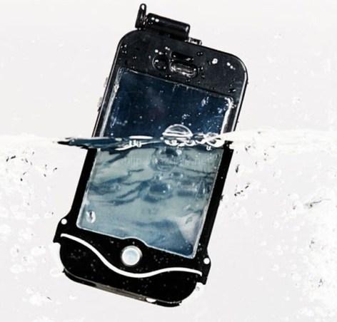 最強の防御力、防水、耐衝撃を極めたiPhoneケース「driSuit」