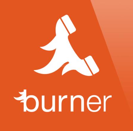 アメリカで発売中。iPhone対応の使い捨て番号取得アプリ「Burner」