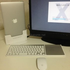 MacbookAir11をデスクトップパソコンのように利用できるドッキングステーション「HENGE・DOCKS」