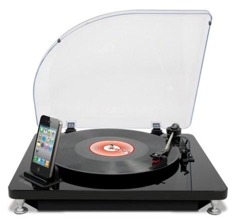 懐かしの名盤をもう一度!LP晩を直接iPhoneに取り込めるターンテーブル「iLPターンテーブル(iLP Turntable)」