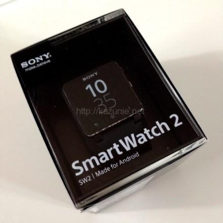 SonyのXperia専用スマートウォッチ「SmartWatch2」なかなかいい(開封・初期設定編)