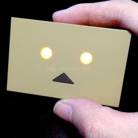 ダンボーバッテリーがminiサイズになって登場で衝動買い警報!DANBOARD version miniは目も光る