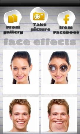 スマホのカメラで顔を撮影して変身したり加工したりするAndroid無料アプリ