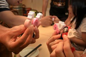 Poken Meet Up 大阪福島のたこやき屋で開催 皆勤めざして参加w