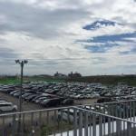 うみの杜、臨時駐車場側 #s_uminomori http://t.co/soNYC3c0KR