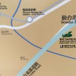 水族館、荒井駅の案内図 https://t.co/h8PuEwOmKs