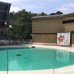 #宮島水族館 #スタジアム アザラシ向けの小さなショーエリア