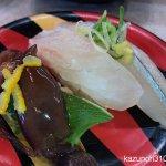 #春ネタ三昧 #ほたるいか #活〆真鯛 #天然さより #かっぱ寿司