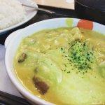 #ごろごろチキンのクリーミーカレー #松屋 #店舗限定 やさしい味わいでおいしい