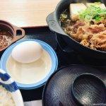 #お肉どっさり牛鍋膳 #松屋 #小鉢カレー うまうま。小鉢カレーがうまい