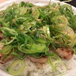 #厚切りネギ塩豚焼肉丼 #松屋 塩ダレがさっぱりしてておいしい