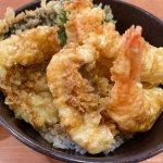#えび天と季節の天丼 #くら寿司 #はも天が入っててお得 うまうま