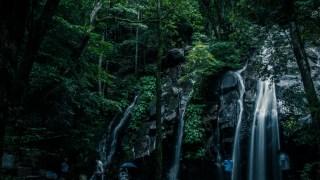 実家帰りのついでに京都で唯一の滝百選・金引の滝を撮ってきました