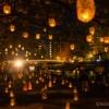 菜の花油で灯されたキャンドルが美しい金沢・浅野川女川祭2017