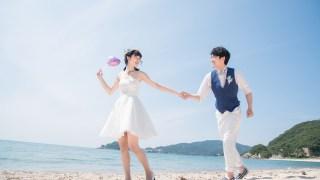 Lovegraphでウェディング前撮りの撮影してきましたin福井県・水晶浜