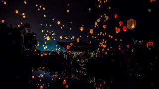 石川県初のスカイランタンなどが行われた倶利伽羅不動寺さんの「AkaReeT (アカリート)」に行ってきました☆