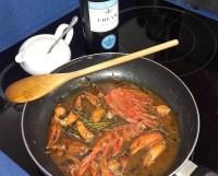 Lobster & Salmon Ravioli with Lobster Sauce 19
