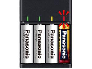 【エネループ充電池 スタンダードモデル BK-4MCC/4SA+急速充電器 BQ-CC73AM-K レビュー】繰り返し使える長持ち充電池 115