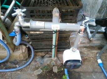 自動潅水タイマーの設置で、管理を楽に。 79