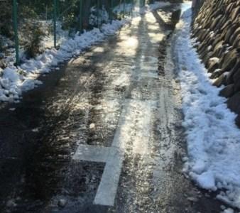 雪かき大変だ~_~; 10