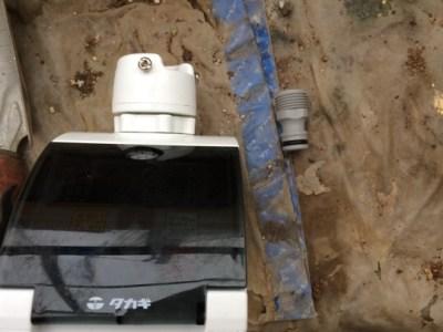 自動灌水機にネジニップルを。これは使える! 87
