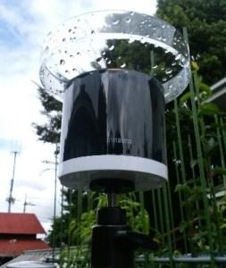 アプリと連携している雨量計で農薬を適正管理! 34
