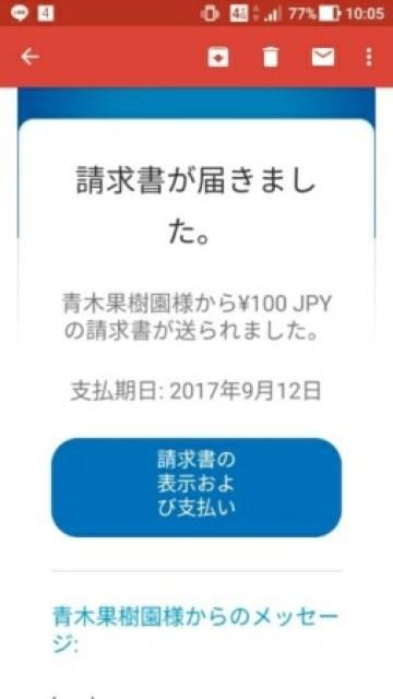 【2017/9/4】paypalカード払いについて(請求書メール) 15