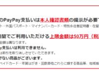 【還元率がスゴイ】QRコード決済のpaypayキャンペーン 42