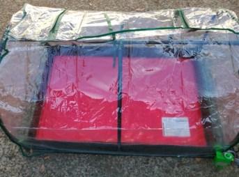 【ひなたぼっこ900 HB-20レビュー】小型で持ち運びできる接ぎ木・育苗の加温ハウスの組み立て手順 24