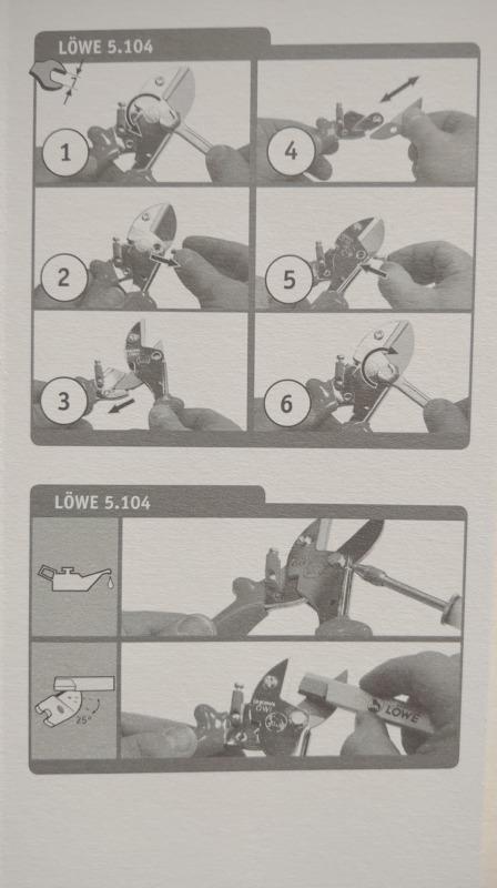 LOWE ライオン No.5104 小型アンビル式剪定鋏の性能・研ぎ方・手入れ方法を解説 318