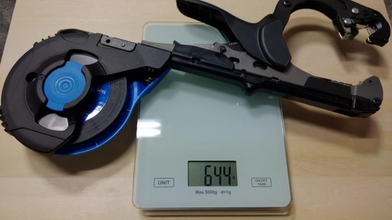 新型強力マックステープナー HT-S45Eの使い方・性能・部品を画像・動画で解説【楽に強力結束誘引】 347