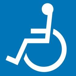 車椅子マーク_左