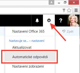 Office 365 - Automatické odpovědi