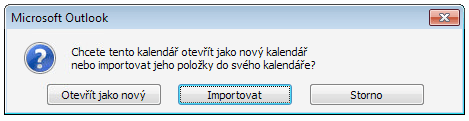 Outlook 2010 - Importovat