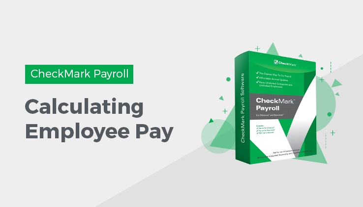 how to calculate employee pay in checkmark payroll