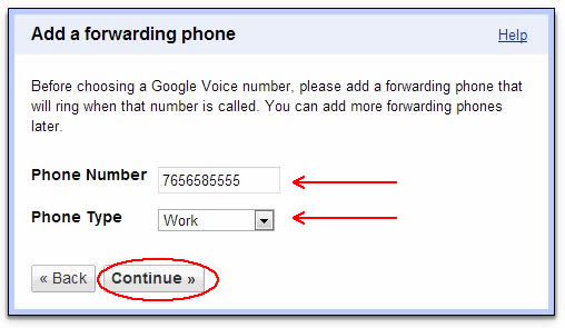 Image of recording phone dialog box