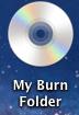 Image of burned disk