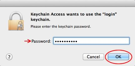 Image of computer password
