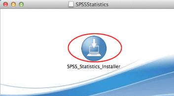 Image of SPSS installer app
