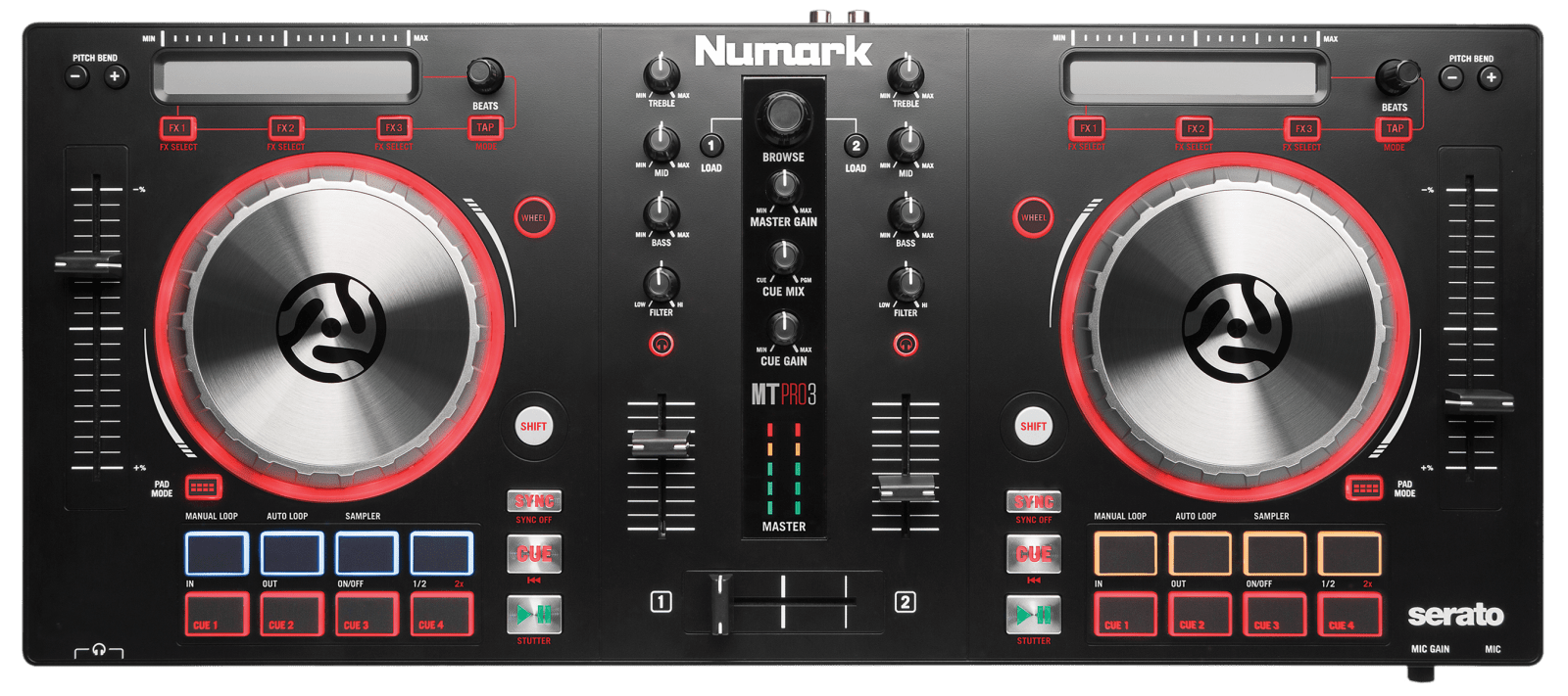 hight resolution of numark mixtrack pro 3 complete download and setup with serato dj intro