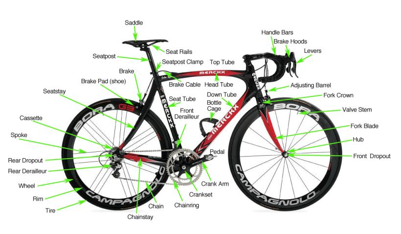 Bike Frame Parts Diagram Allcanwear