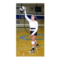 volleyball pal serving practice