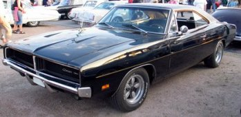 Dodge-Charger-1969-Front