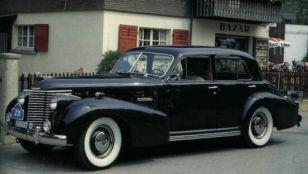 1938 Cadillac 60 Special Sedan